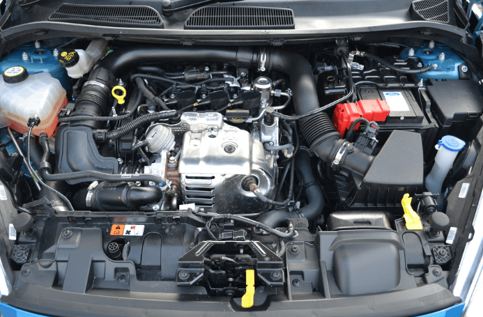 2021 Ford Fiesta Engine
