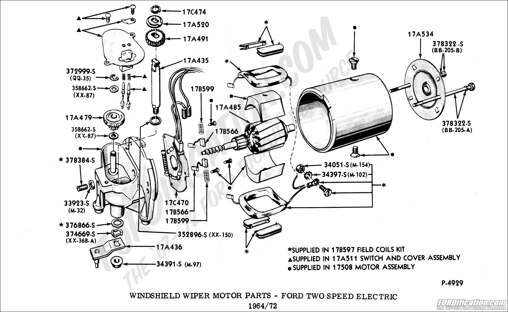 55 Chevy Wiper Cable Diagram