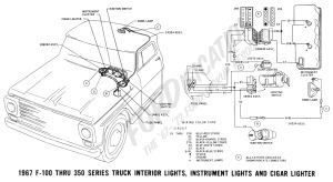 Ford Truck Technical Drawings and Schematics  Section H  Wiring Diagrams