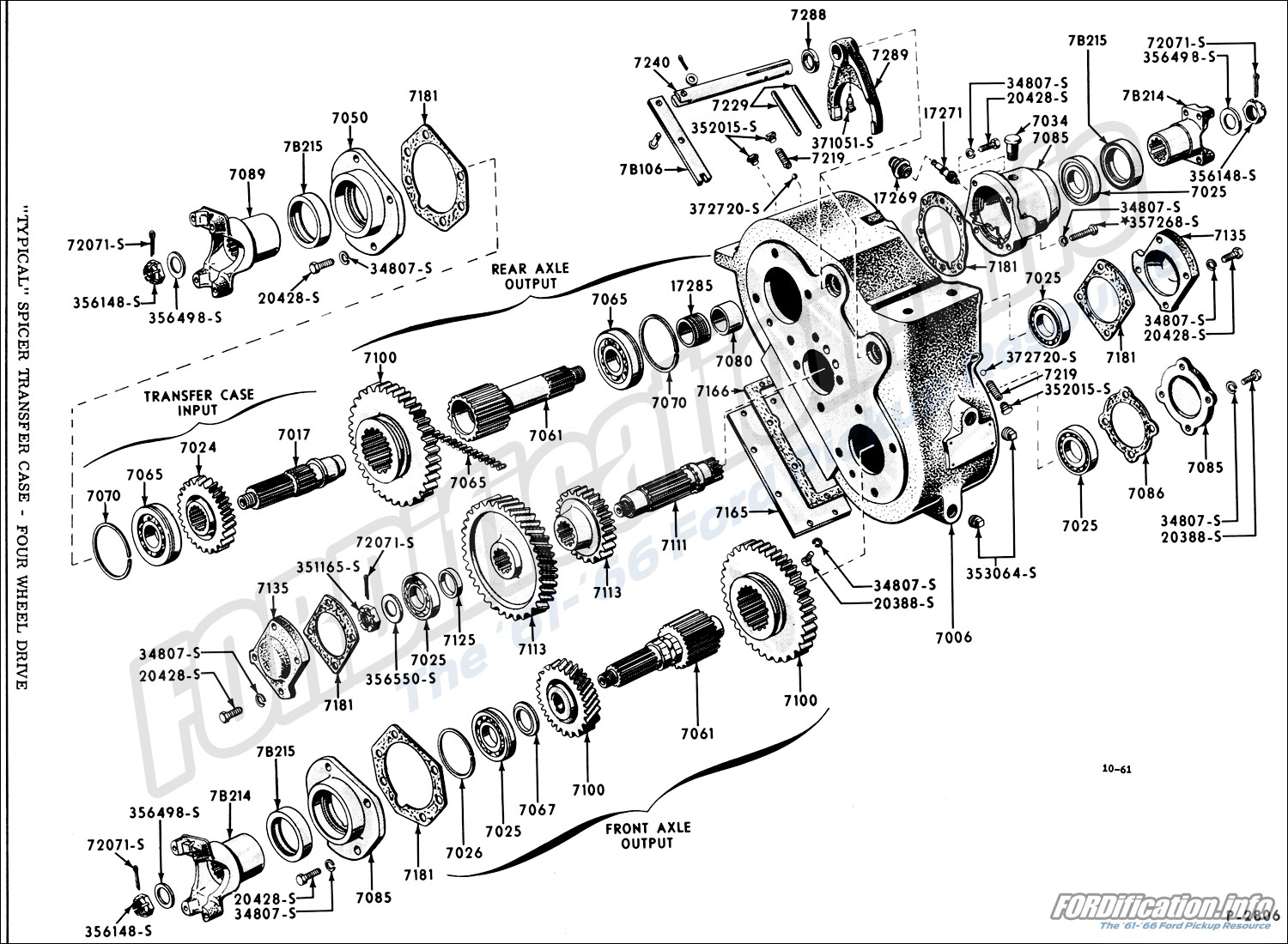T98 Transmission Schematics