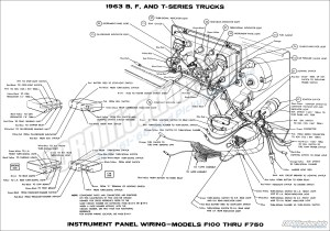 1963 Ford Truck Wiring Diagrams  FORDificationinfo  The