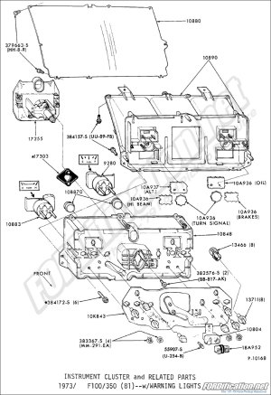 Ford Truck Part Numbers (Instrument Panel)  FORDification