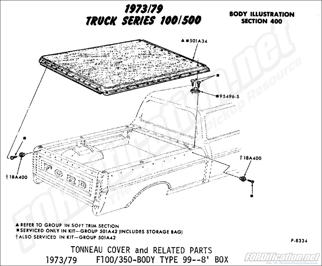 Ford Truck Part Number
