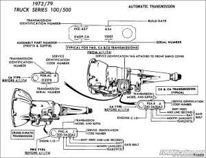 19731979 Ford TruckVan Automatic Transmission