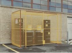 Barrel Storage Cage