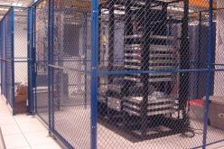 Woven Wire Mesh Server Cages for Colocation Sites