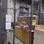 Warehouse Lockable Mesh Storage Cage