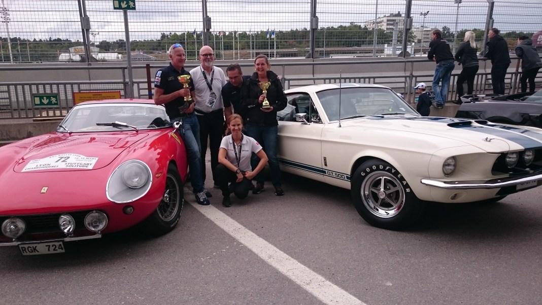 Ferrari 275GTB -65, Shelby GT500 -67, Auto Motor & Sportbilsfestival Solvalla 2016 fordmustangmagazine.com