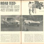 Road Test SHELBY GT-500 & 427 STING RAY s24-25 fordmustangmagazine.com