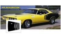 Billboard stripe, -71 Plymouth Cuda 440