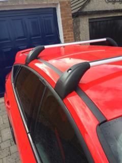 roof bars 5 dr hatchback ford focus