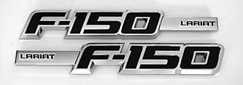 F150 Lariat Fender Emblem Set 2009-2014 - FordPartsOne