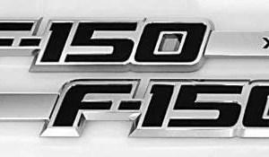 F150 XLT Fender Emblem Set 2009-2014 - FordPartsOne