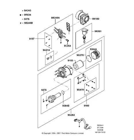 WIF Sensor 6.0 Power Stroke Diesel F Series - FordPartsOne