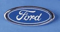 05 07 F250 F350 F450 F550 Blue Oval Grille Emblem - FordPartsOne