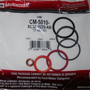 Injector O Ring Kit 7.3 Power Stroke Motorcraft CM 5010 Ford XC3Z 9229 AB - FordPartsOne