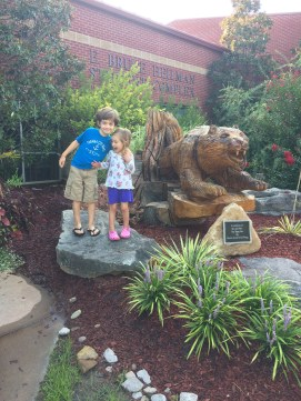 Our little tigers at Campbellsville University