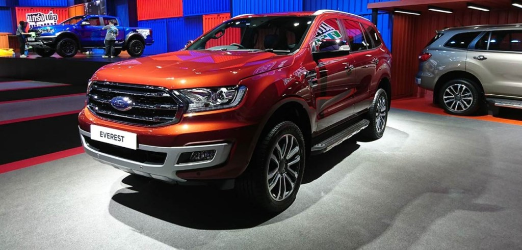 2021 Ford Everest Exterior
