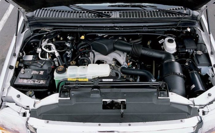 2021 Ford Excursion Engine