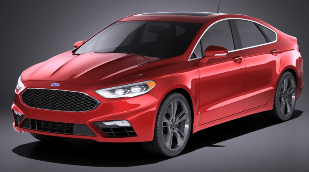 2022 Ford Fusion Exterior