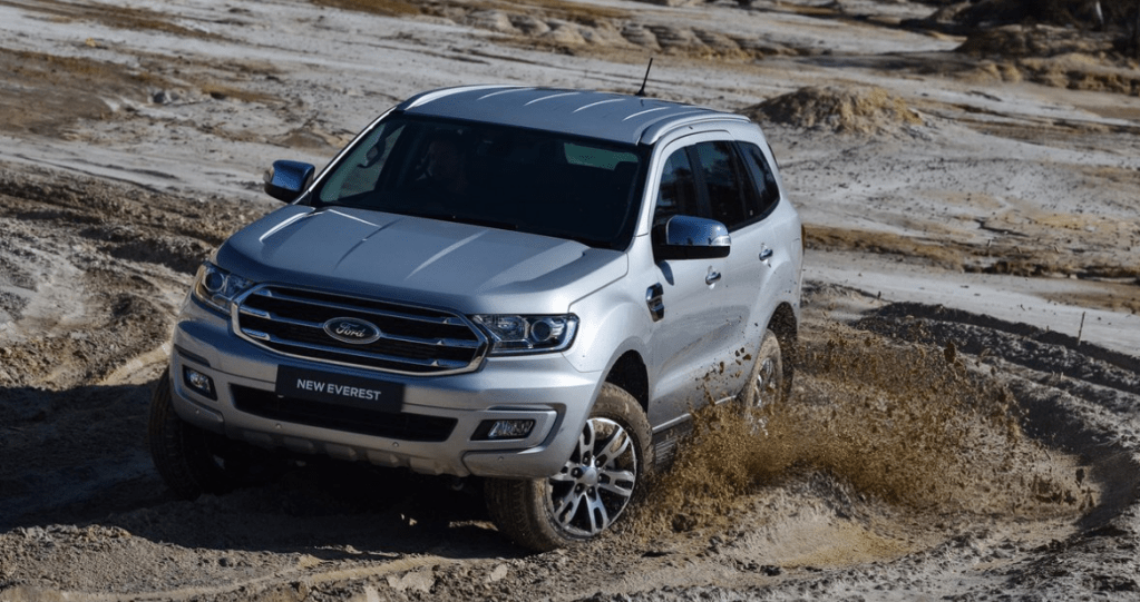 2022 Ford Everest Exterior