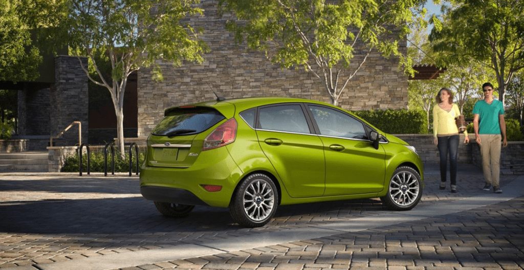 2022 Ford Fiesta Exterior