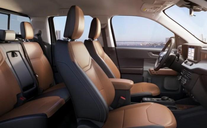 2022 Ford Maverick Interior