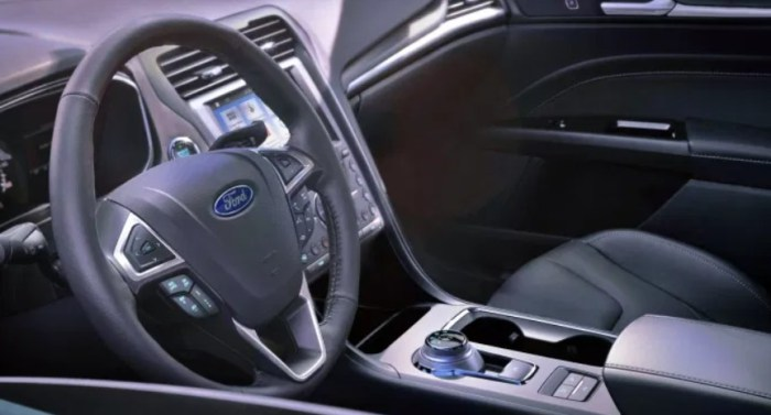2023 Ford Fusion Wagon Interior