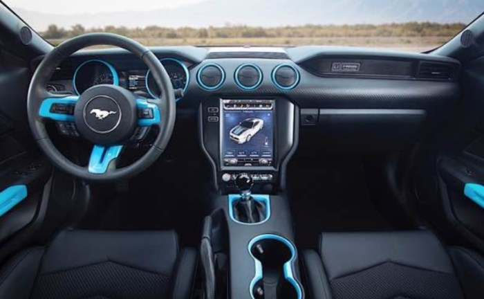 2023 Ford Mustang S650 Interior