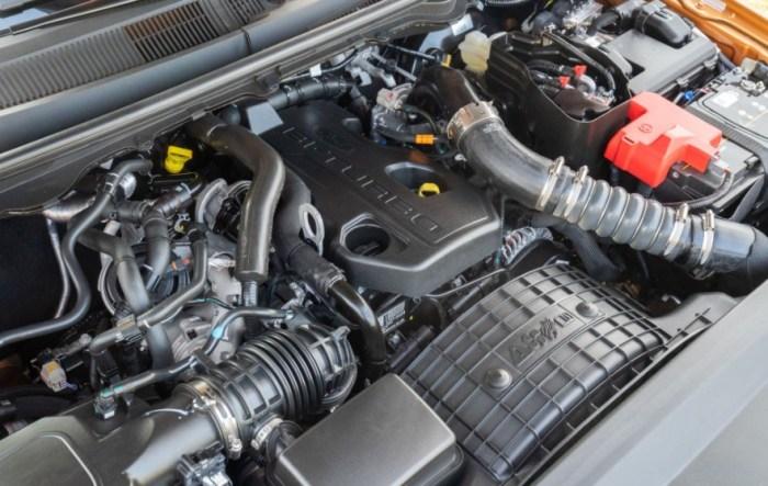 2023 Ford Ranger Wildtrak Engine