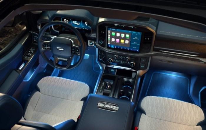 2022 Ford F 150 Tremor Interior