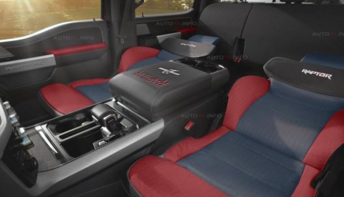 2022 Ford F-150 Raptor R Interior