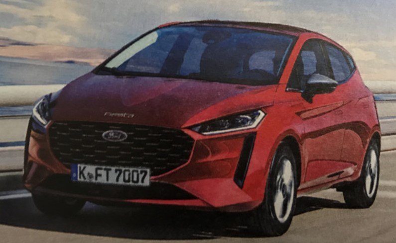 Ford Fiesta 2022 Exterior