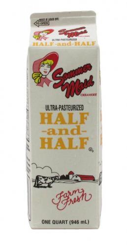 Dairy, Half & Half, Quart