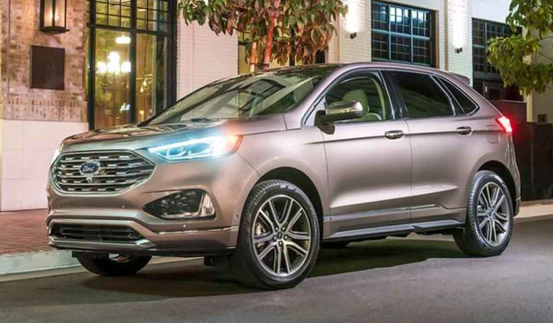 The 2023 Ford Edge is a midsize crossover SUV that sits right in the middle of Ford's SUV lineup.