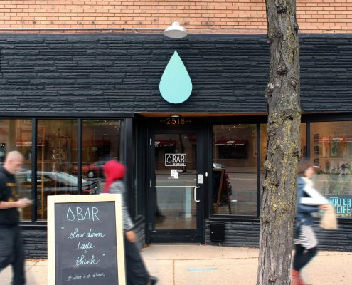 Water Bar storefront