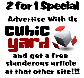 CubicYard 2 Fer 1 Deal. Just Like the NAMFS Regime 40% Off Deal --- You can't even give away the shit!