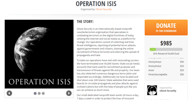 Help #OpISIS help YOU! For the price of a cup of coffee, keep the Caliphate at bay!