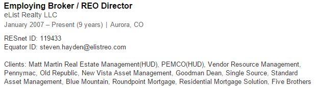 Hayden's LinkedIn Profile
