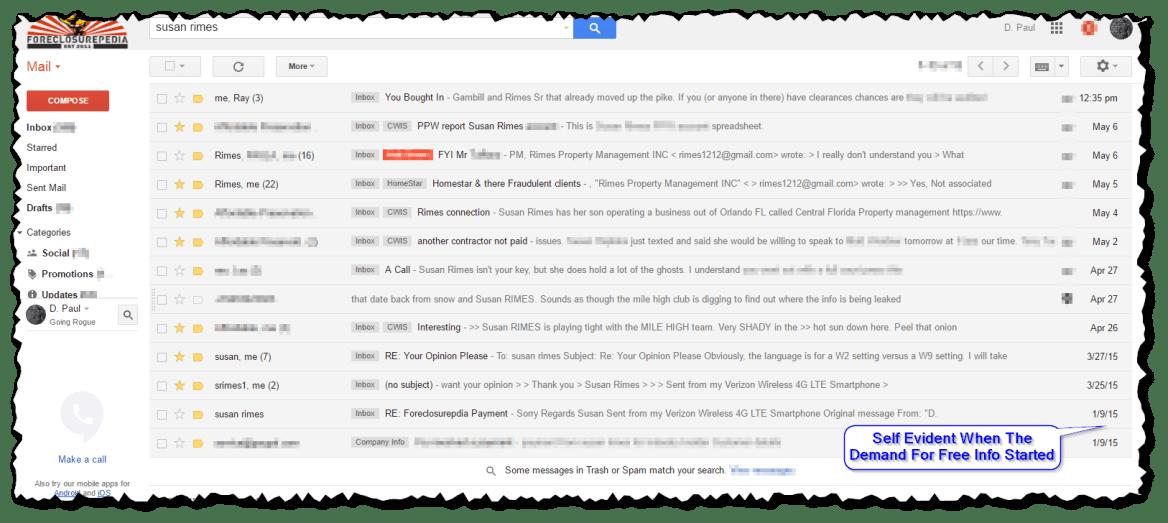 Rimes Emails
