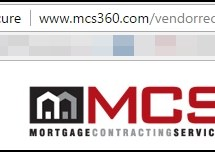Mortgage Contracting Services Listed Not Secure By Google