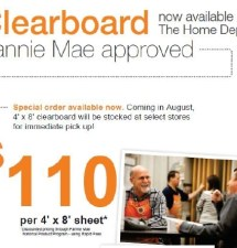 Home Depot Launches Clearboarding In Stores