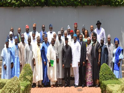 Osinbajo, Govs Raise Alarm Over Rising Population, Insecurity