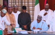President Buhari Signs 2019 Appropriation Bill Into Law