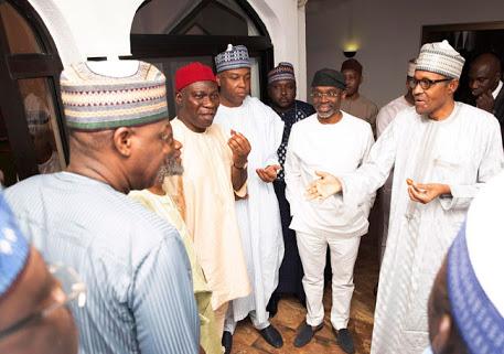 Buhari Breaks Fast With Saraki, Dogara, NASS Leaders