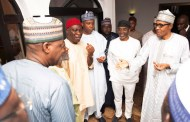 Buhari Breaks Fast With Saraki, Dogara, NASS Leaders