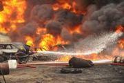 Ijegun Residents Stop Pipeline Fire