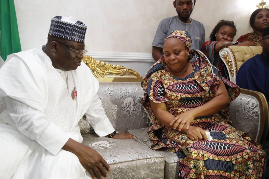 PHOTO NEWS: Senators Ahmad Lawan, Omo-Agege, Okorocha, Others Visit Late Sen Ben Uwajumogu's Family