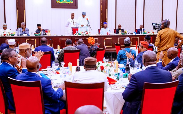I'm Already Looking Forward To A Peaceful Handover In 2023 – Buhari