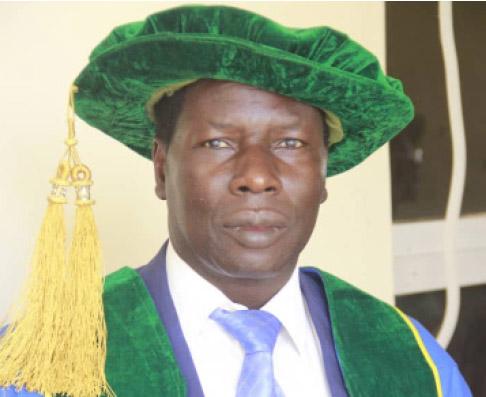 FUGA VC, Prof Haruna, Turbaned As 'Kaigama Of Akko'